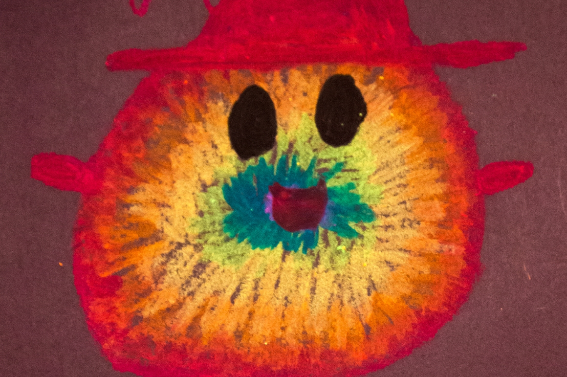 """3rd grade – Personification of feelings with Mies van Hout's """"Happy"""""""