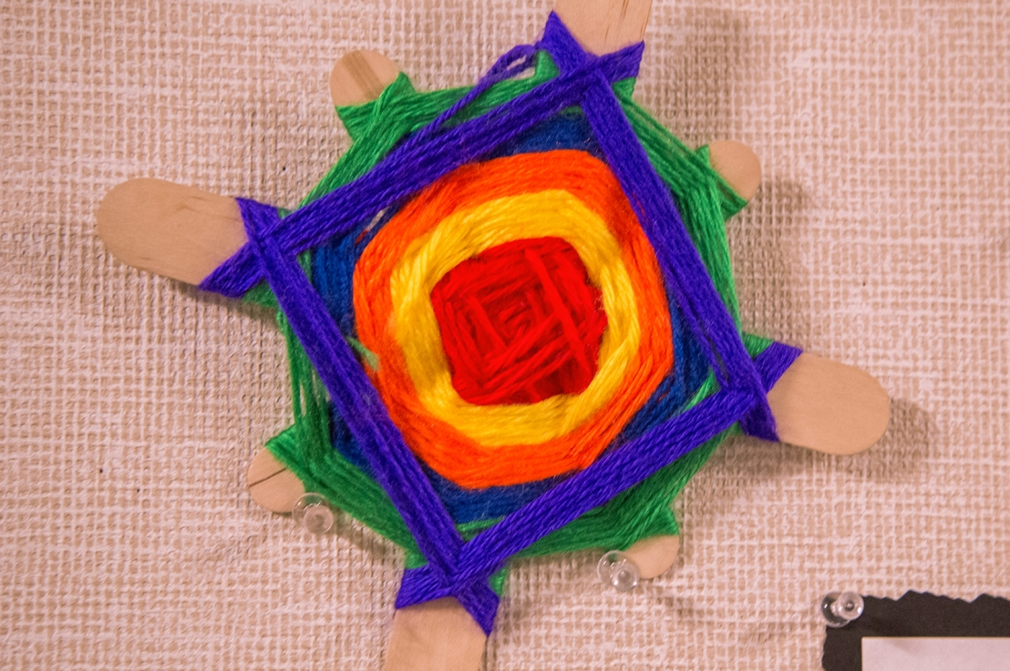 5th Grade – Weaving an Ojo deDios