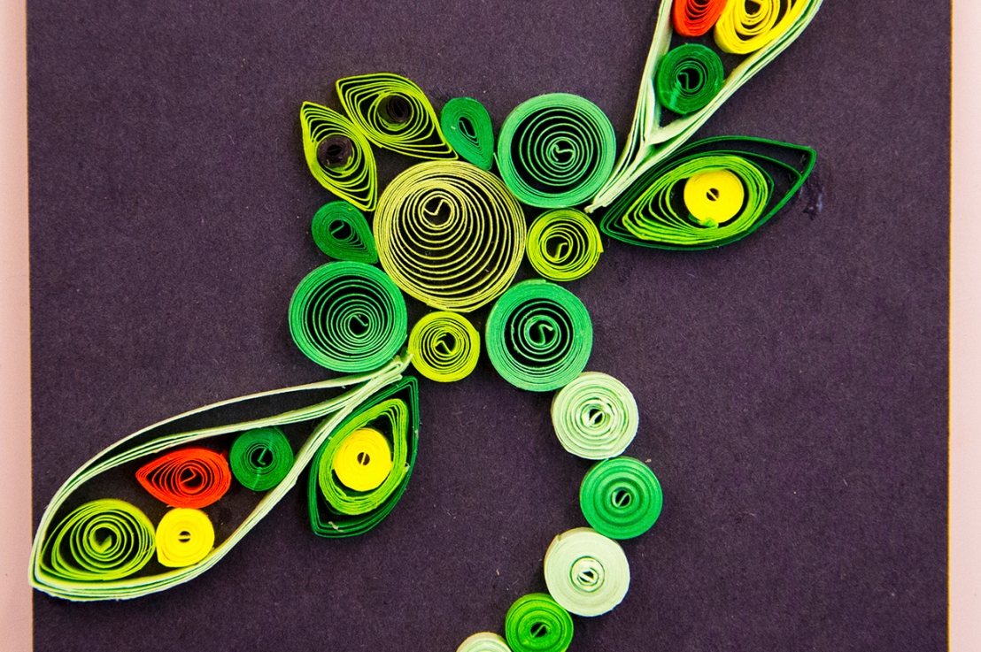 8th Grade – The Art of PaperQuilling