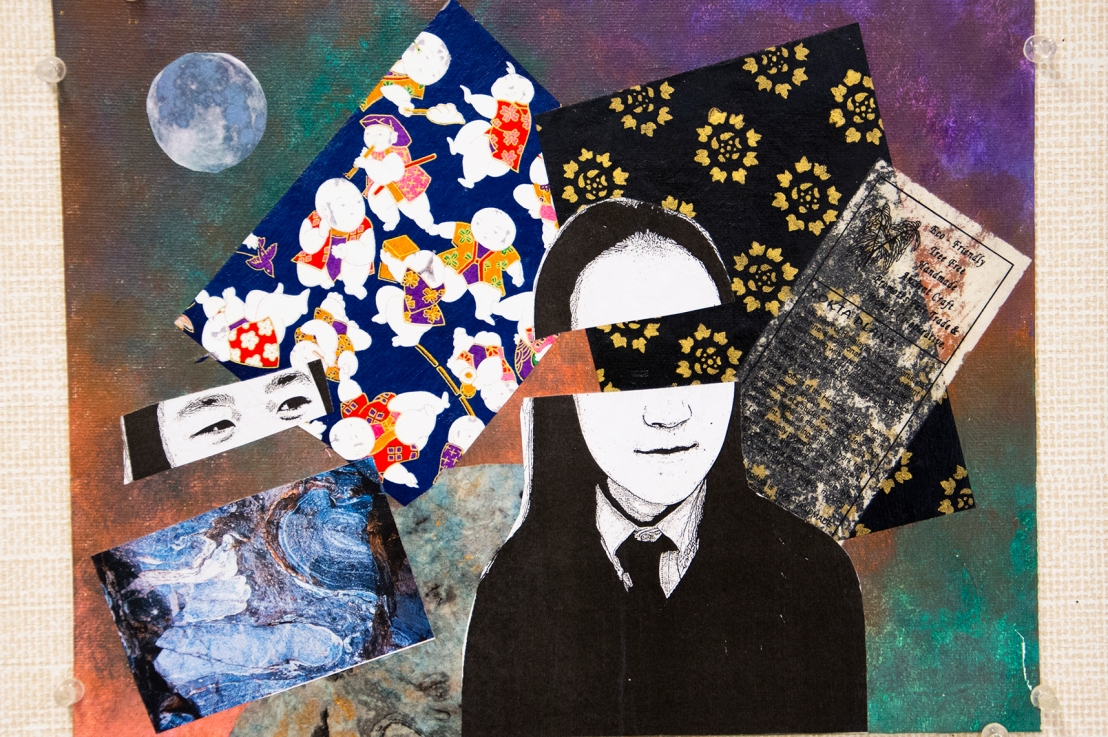 8th Grade – Mixed Media Collage