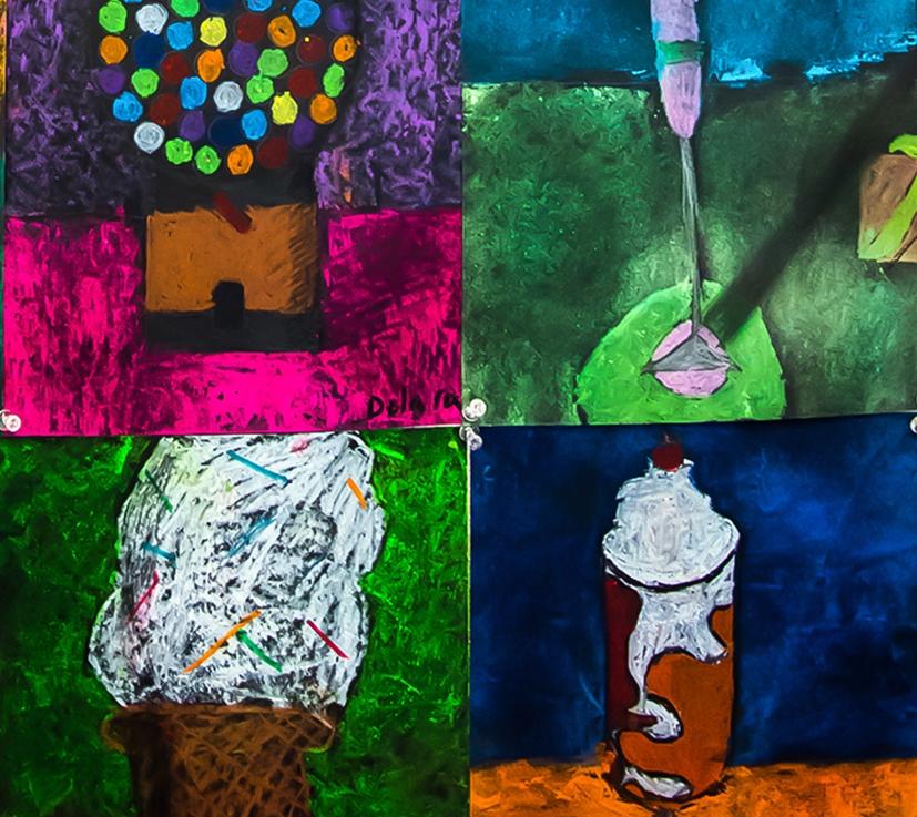 3rd Grade – Wayne Thiebaud's Desserts