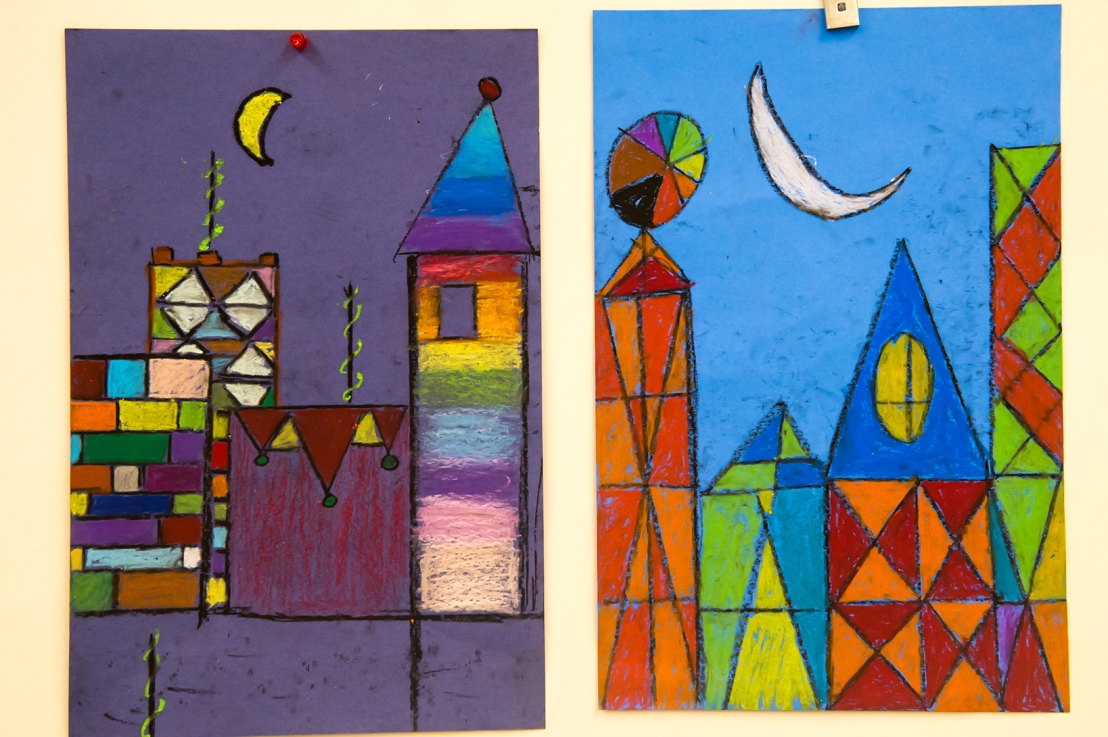3rd Grade – Paul Klee's Magic Square Series