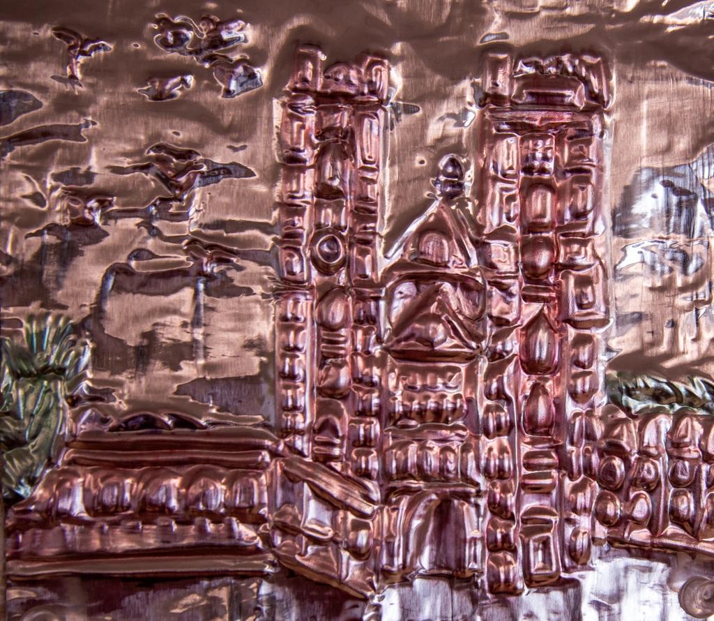 6th grade - architectural foil repousse
