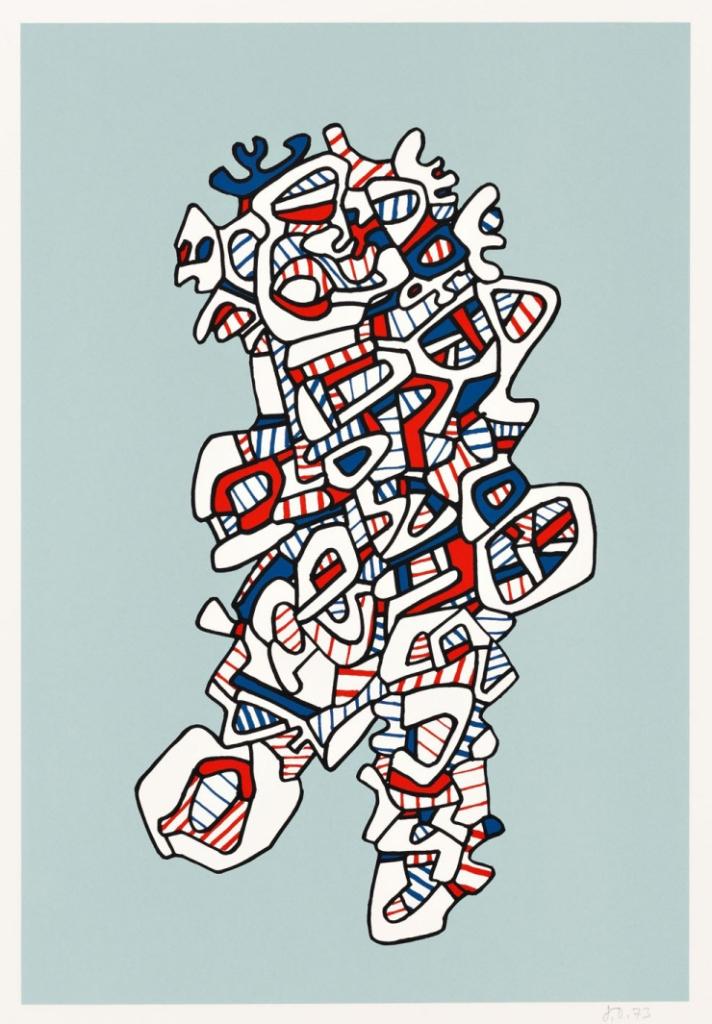 Exaltado by Jean Dubuffet