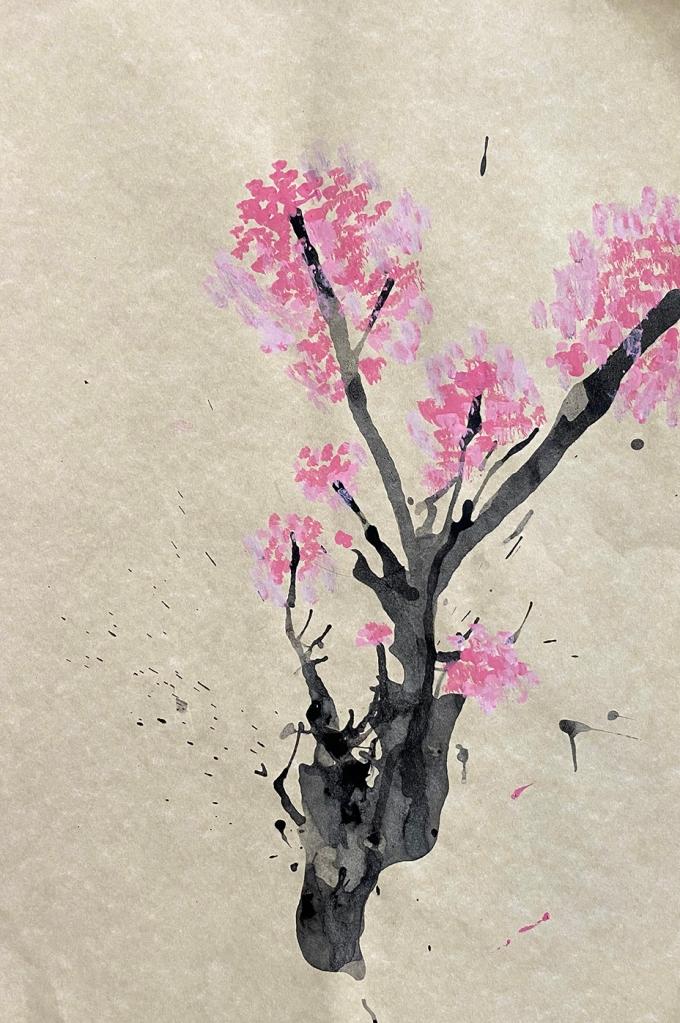 1st grade - Japanese Cherry Blossoms