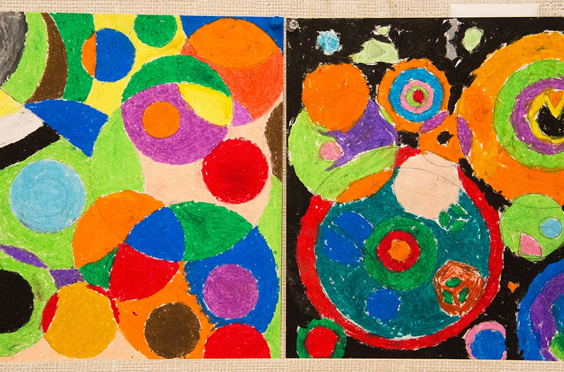 4th Grade – Intro to Orphism with Sonia and Robert Delaunay