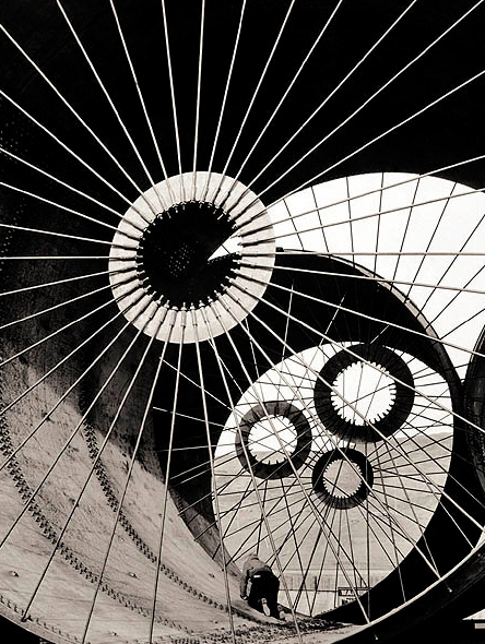 From the Fort Peck Dam series (1936) by Margaret Bourke White