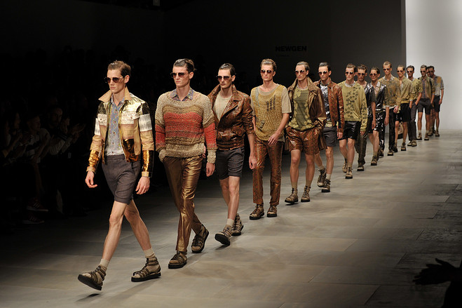 Photo of a catwalk for men's fashion