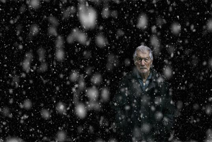 Snowfall, 2007, © Nuri Bilge Ceylan. A breathtaking example using a narrow depth of field.