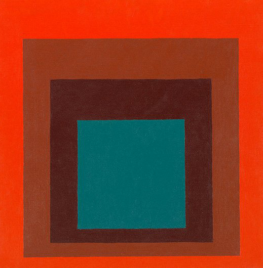 Study for Homage to the square 1956, Josef Albers