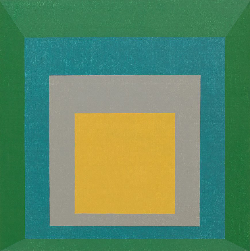 """Apparition"" - 1959, from Albers' Homage to the Square series"