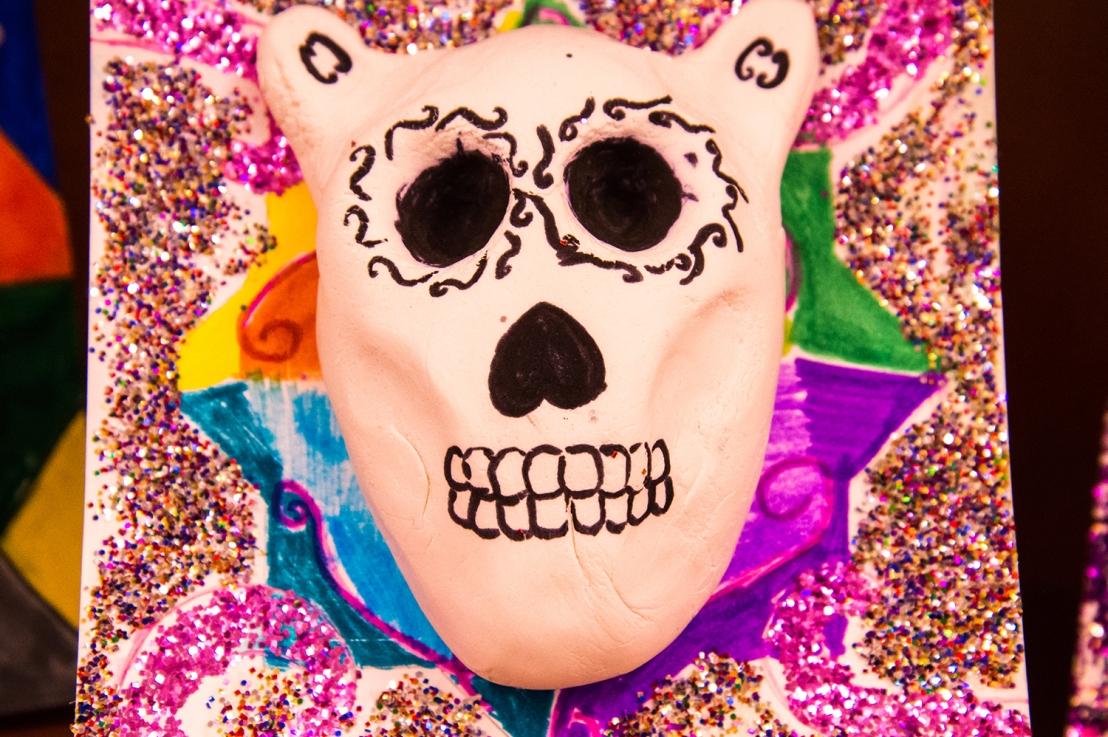 """4th Grade – Día de los Muertos """"Sugar""""Skulls!"""
