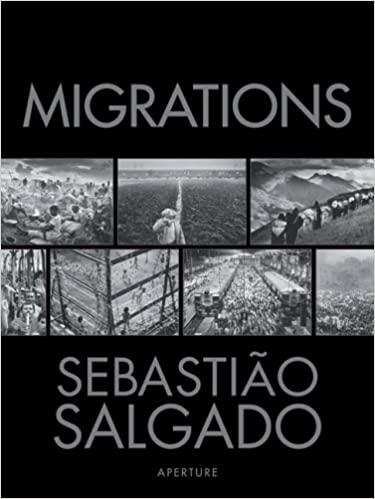 The cover of Sebastião Salgado's book Migrations