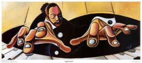Cbabi Bayoc's painting Light Touch