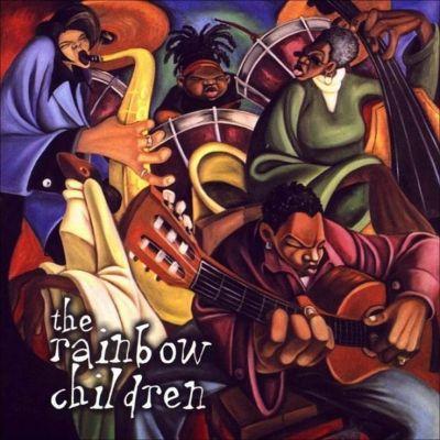 The album cover Cbabi Bayoc painted for Prince